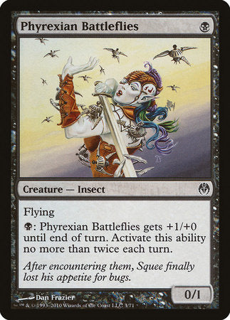 Phyrexian Battleflies [Duel Decks: Phyrexia vs. the Coalition] | Tabletop Cards
