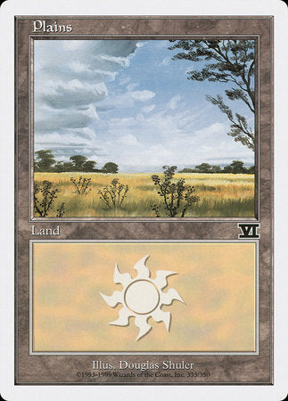 Plains (333) [Classic Sixth Edition] | Tabletop Cards