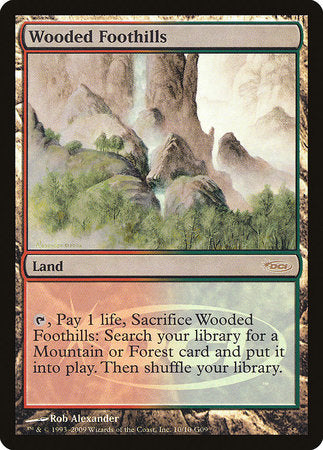 Wooded Foothills [Judge Gift Cards 2009] | Tabletop Cards