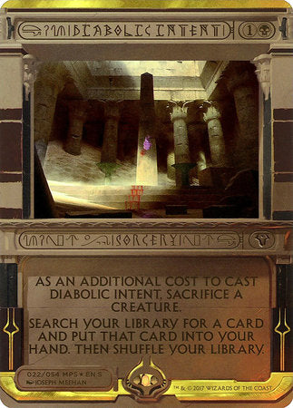 Diabolic Intent [Amonkhet Invocations] | Tabletop Cards