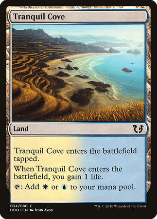 Tranquil Cove [Duel Decks: Blessed vs. Cursed] | Tabletop Cards