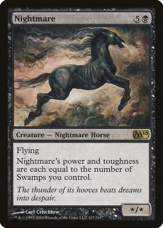 Nightmare [Magic 2010] | Tabletop Cards
