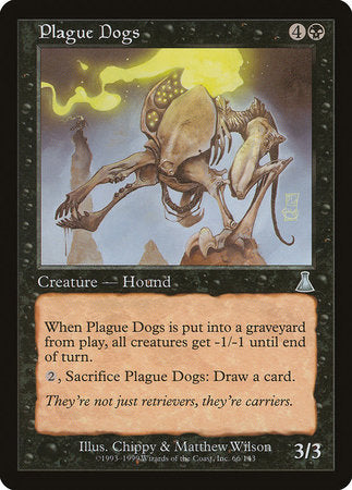 Plague Dogs [Urza's Destiny] | Tabletop Cards