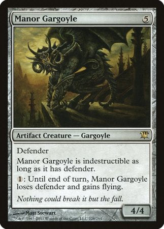 Manor Gargoyle [Innistrad] | Tabletop Cards