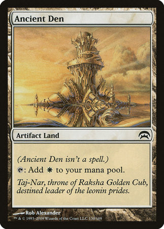Ancient Den [Planechase] | Tabletop Cards