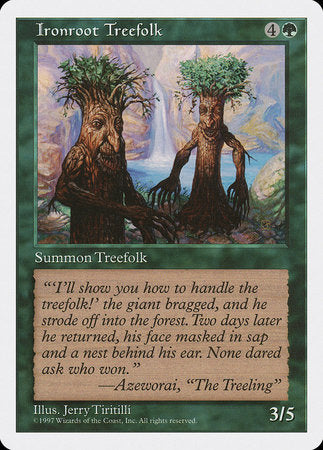 Ironroot Treefolk [Fifth Edition] | Tabletop Cards