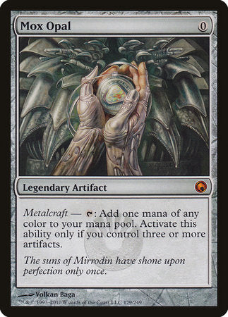 Mox Opal [Scars of Mirrodin] | Tabletop Cards