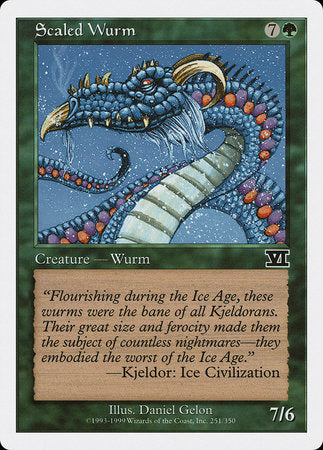 Scaled Wurm [Classic Sixth Edition] | Tabletop Cards
