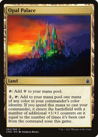 Opal Palace [Commander Anthology] | Tabletop Cards