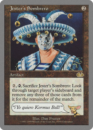 Jester's Sombrero [Unglued] | Tabletop Cards