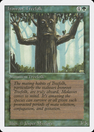 Ironroot Treefolk [Revised Edition] | Tabletop Cards