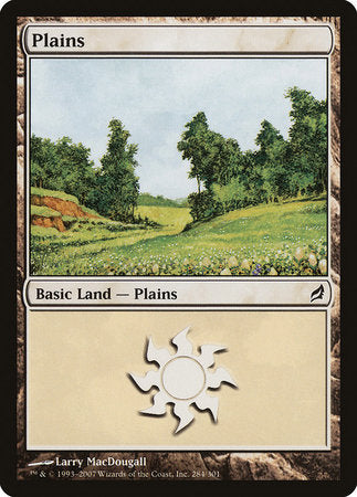 Plains (284) [Lorwyn] | Tabletop Cards