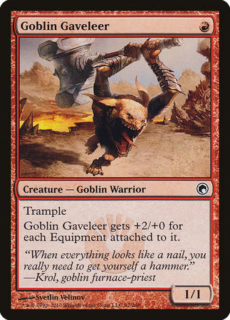 Goblin Gaveleer [Scars of Mirrodin] | Tabletop Cards