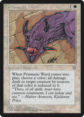Prismatic Ward [Ice Age] | Tabletop Cards