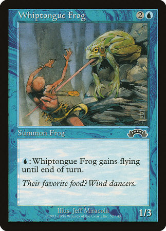 Whiptongue Frog [Exodus] | Tabletop Cards