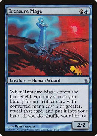 Treasure Mage [Mirrodin Besieged] | Tabletop Cards