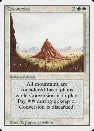 Conversion [Revised Edition] | Tabletop Cards