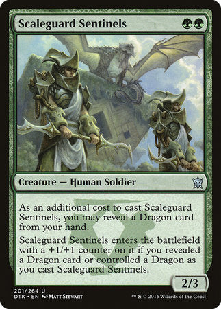 Scaleguard Sentinels [Dragons of Tarkir] | Tabletop Cards
