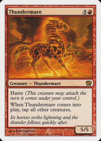 Thundermare [Ninth Edition] | Tabletop Cards