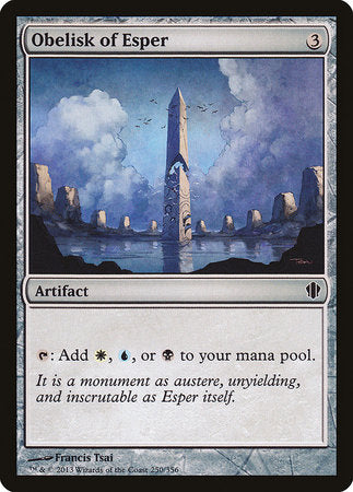 Obelisk of Esper [Commander 2013] | Tabletop Cards