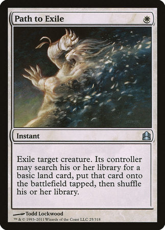 Path to Exile [Commander 2011] | Tabletop Cards