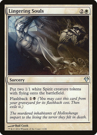 Lingering Souls [Modern Event Deck 2014] | Tabletop Cards