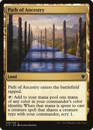 Path of Ancestry [Commander 2017] | Tabletop Cards