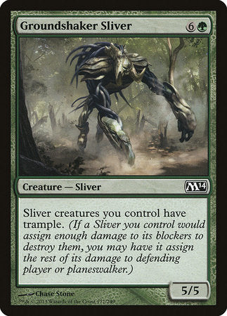 Groundshaker Sliver [Magic 2014] | Tabletop Cards