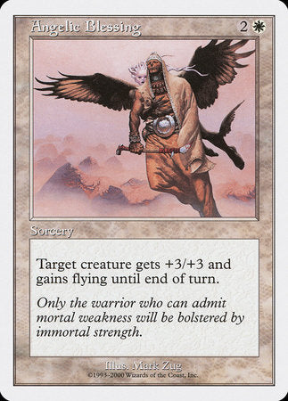Angelic Blessing [Starter 2000] | Tabletop Cards