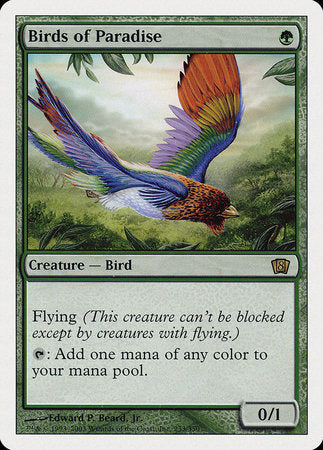 Birds of Paradise [Eighth Edition] | Tabletop Cards