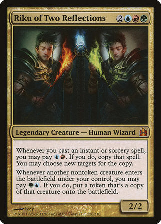 Riku of Two Reflections [Commander 2011] | Tabletop Cards