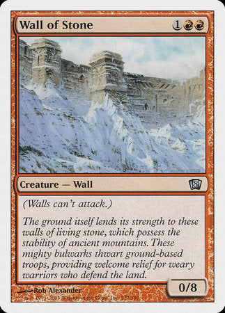 Wall of Stone [Eighth Edition] | Tabletop Cards