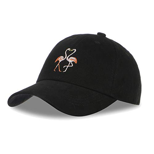 Flamingo Baseball Embroidery Dad-Hats - Love Street Style