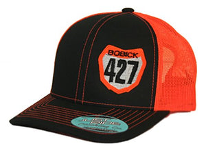 Just Ride Snapback Mesh Hat Custom Personalized Motocross Number Plate