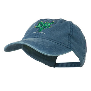 e4Hatscom Cactus Embroidered Washed Cap