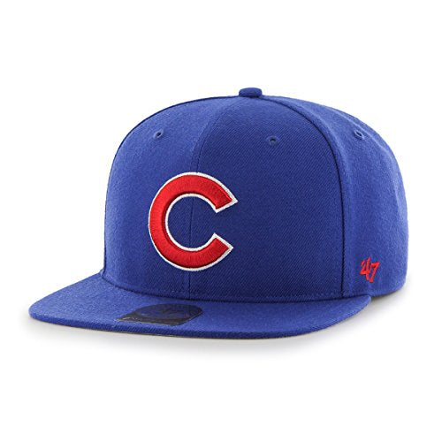 '47 MLB Chicago Cubs Embroidered Wool Blend Snapback Cap