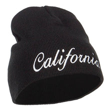 Load image into Gallery viewer, e4Hatscom California Embroidered Short Beanie