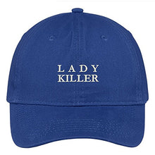 Load image into Gallery viewer, Trendy Apparel Shop Lady Killer Embroidered Low Profile Soft Cotton Brushed Baseball Cap