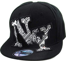 Load image into Gallery viewer, KBETHOS Authentic New York City Borough Fitted Baseball Cap Hat