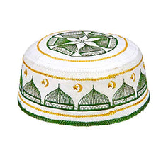 Load image into Gallery viewer, Sandala Musulim Elastic Skull Embroidered Prayer Kufi Hats