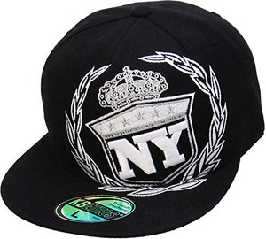 KBETHOS Authentic New York City Borough Fitted Baseball Cap Hat