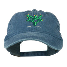 Load image into Gallery viewer, e4Hatscom Cactus Embroidered Washed Cap