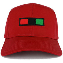 Load image into Gallery viewer, Africa Red Black Green Embroidered Iron on Patch Adjustable Baseball Cap