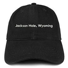Load image into Gallery viewer, Trendy Apparel Shop Jackson Hole Wyoming Cotton Unstructured Dad Hat
