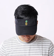 Load image into Gallery viewer, Jinniee Sun Visor Unisex 100% Cotton Best Visors Cap Small Embroidery Summer Cap
