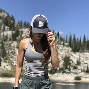 Skye Mountain Co - Utah 3 Trees Hat  Trucker Hat - Snapback Mesh and FlexFits