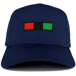 Africa Red Black Green Embroidered Iron on Patch Adjustable Baseball Cap