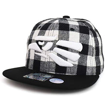 Load image into Gallery viewer, Trendy Apparel Shop Hecho en Mexico Eagle 3D Embroidered Snapback Flatbill Cap