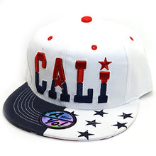 Load image into Gallery viewer, AblessYo Country Flag National Embroidered Snapback Flat Bill Cap Baseball Hat AYO3024