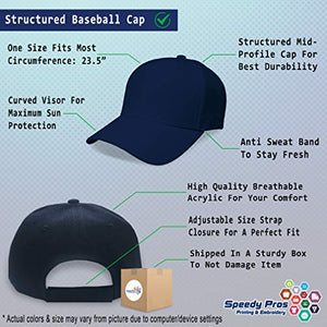 Speedy Pros Baseball Cap Gold Press News Embroidery Acrylic Dad Hats for Men & Women 1 Size